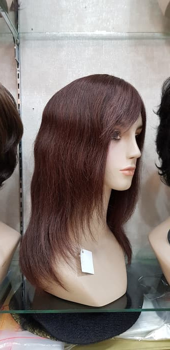 Info Harga Wig Human Hair Rambut Palsu Wanita Brown Di Jakarta ... 7651df81a3