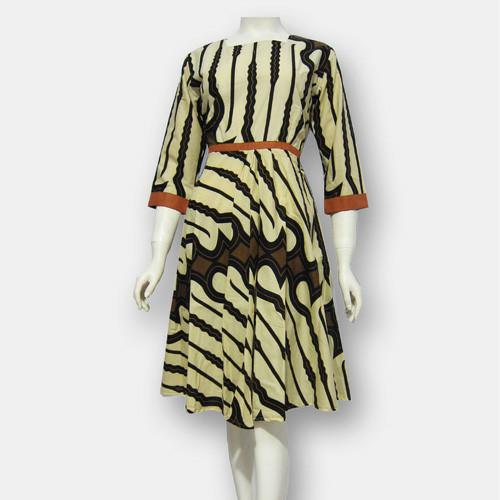 Model Baju Dress Batik Terbaru - dres batik SA370 Bahan 100% Original 7604bdb589