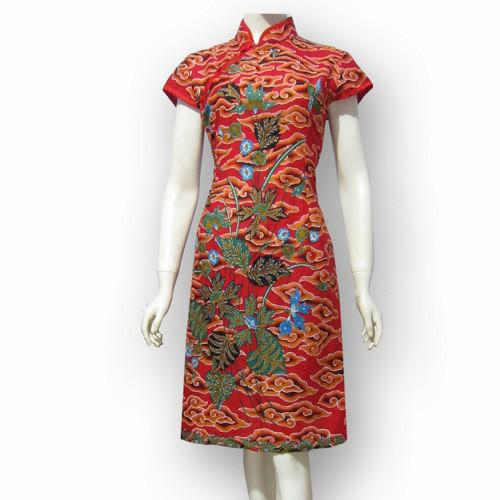 Jual Model Baju Dress Batik Terbaru Dres Batik Modern Sa 414 Kab Boyolali Baju Batik Dinasti Tokopedia