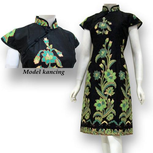 Jual Model Baju Dress Batik Terbaru Dres Batik Modern Sa 430 Kab Boyolali Baju Batik Dinasti Tokopedia