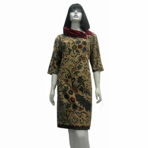 Jual Model Baju Dress Batik Terbaru Dres Batik Modern Sa 501 Kab