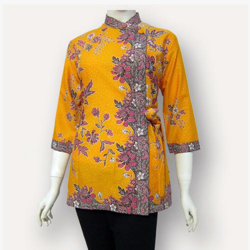 Jual Model Baju Blouse Batik Terbaru Blus Atasan Batik Sa 354 Kab Boyolali Baju Batik Dinasti Tokopedia
