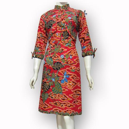 Jual Model Baju Dress Batik Terbaru Dres Batik Modern Sa 408 Kab