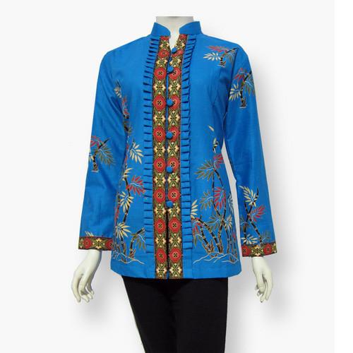 Jual Model Baju Blouse Batik Terbaru Blus Atasan Batik Sa 314 Kab Boyolali Baju Batik Dinasti Tokopedia