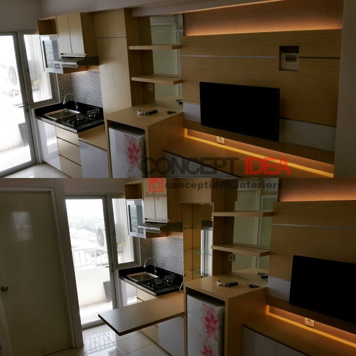 referensi design interior apartemen 2br design interior apartemen Interior Apartemen FULL FURNITURE u0026 ELEKTRONIK