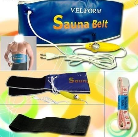 VELFORM SAUNA BELT / SABUK SAUNA PEMBAKAR LEMAK / SABUK PELANGSING