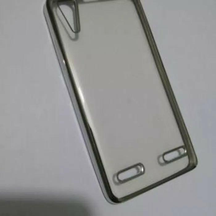 Tpu case list shining chrome LENOVO A6000 PLUS A6010 / K3 softcase