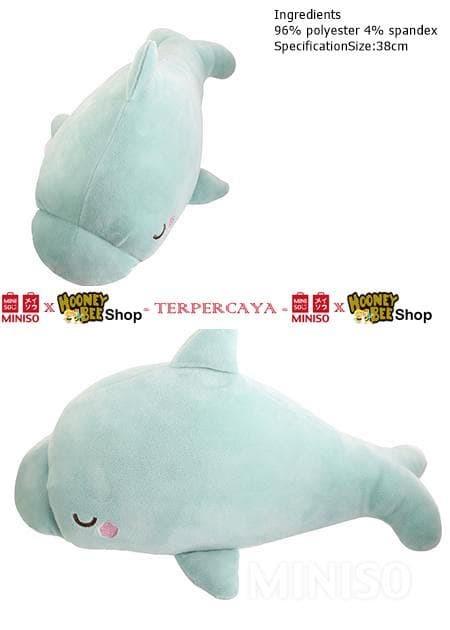 Jual Japan Quality - Boneka Lumba-lumba Miniso Baby Dolphin Doll ... da02f30185