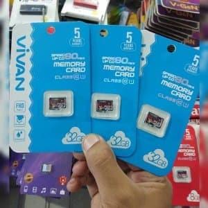 harga Micro sd kartu memori vivan 32gb Tokopedia.com
