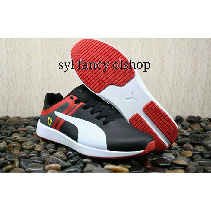 ... harga Sepatu puma ferrari black sf116 sneakers shoes skin leather  origin Tokopedia.com. Rp. 1399900 836250b497