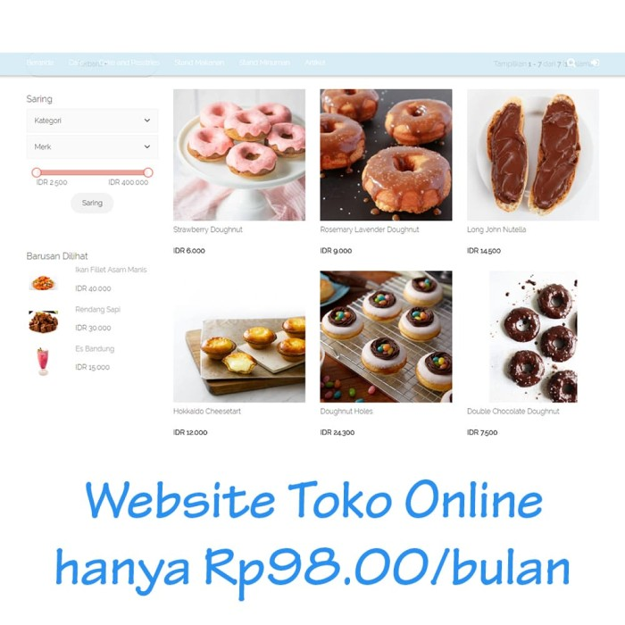 Harga Website Tabloid Pulsa Katalog.or.id