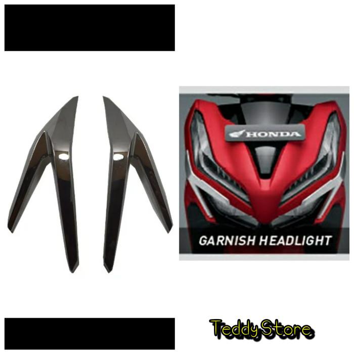 harga Garnish lampu depan headlight honda new vario techno 125 150 esp 2018 Tokopedia.com