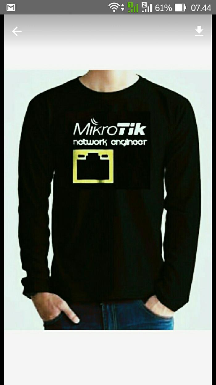 harga Sweater-jaket-hoodie mikrotik terpopuler keren Tokopedia.com