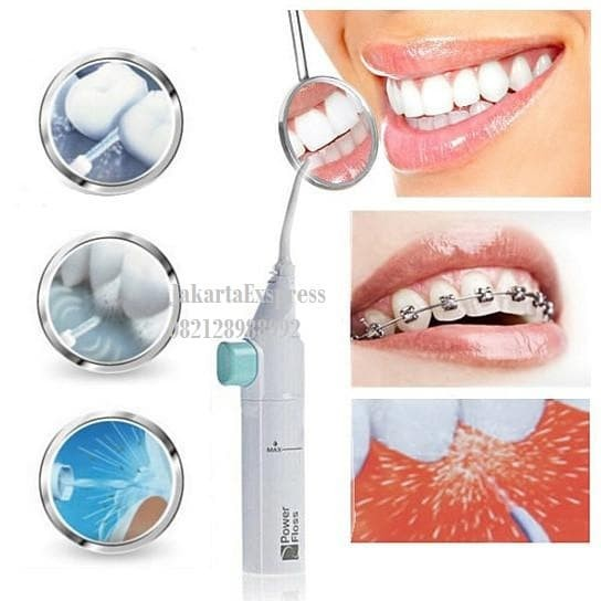 Jual Alat Pembersih Gigi Semprotan Mulut Portable Power Floss Dental