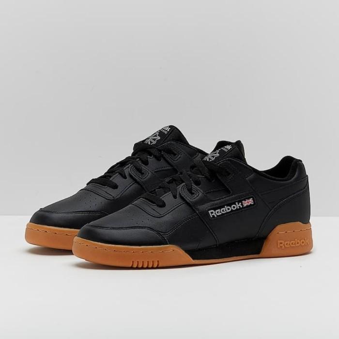 Jual Sepatu Sneakers Reebok original Workout Plus Black Carbon ... a7d80d2a8