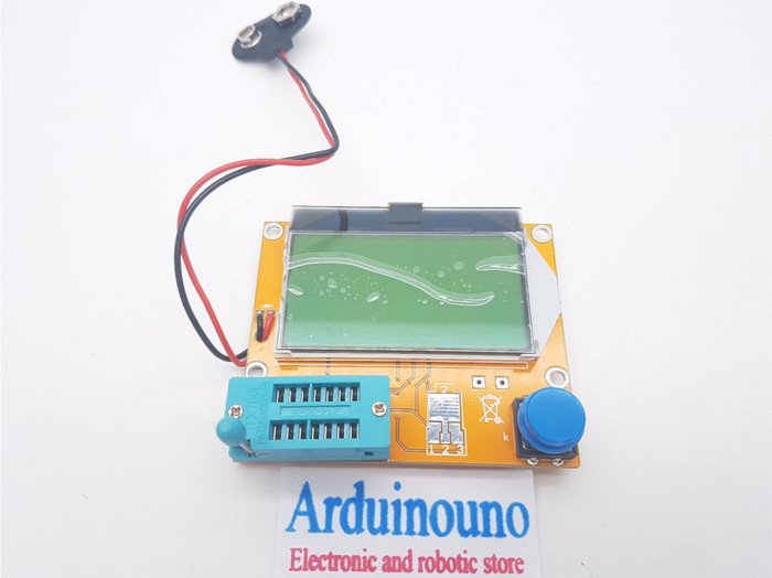 harga Lcr-t4 esr meter m328 led transistor tester diode triode capacitance Tokopedia.com