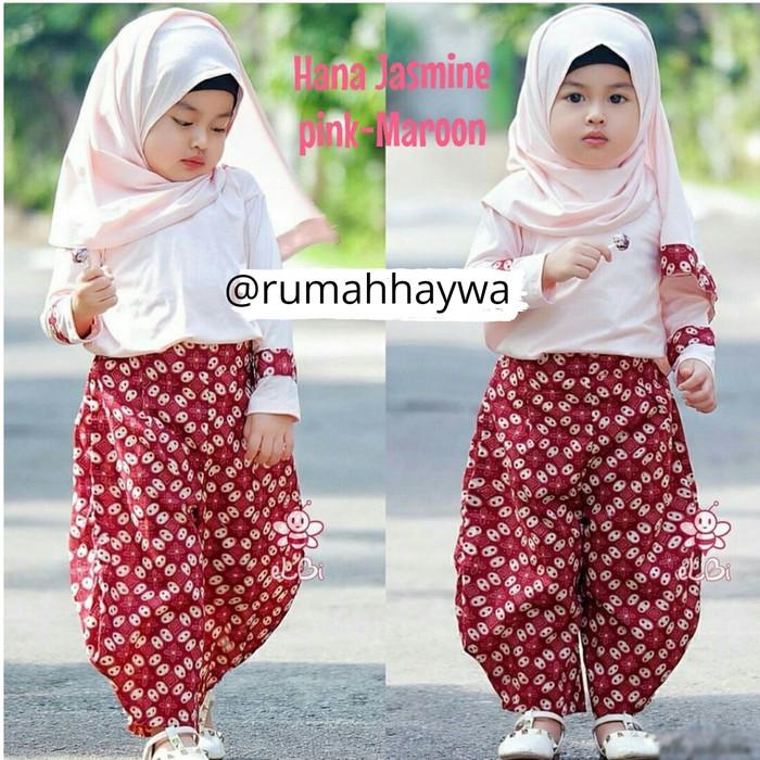 Jual Batik Anak Model Celana Model Baju Muslim Bayi Perempuan Muslimah 1 2 Kota Surabaya Ana Jaya Tokopedia
