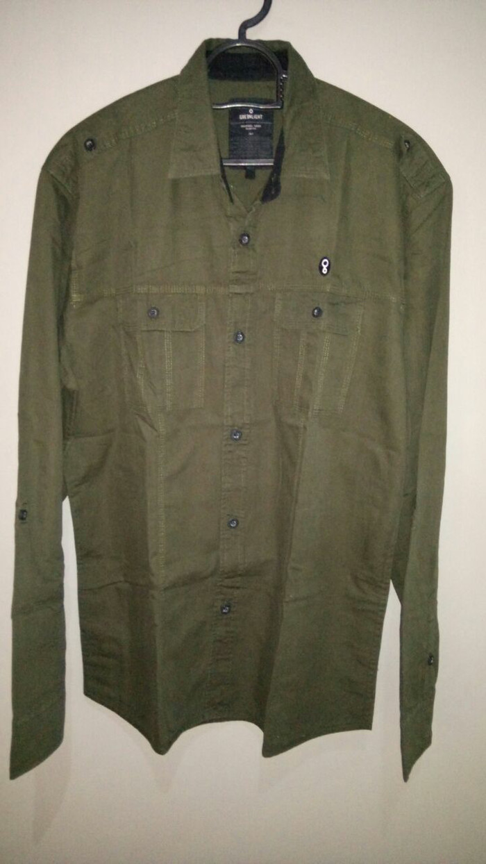 Kemeja Greenlight original size L