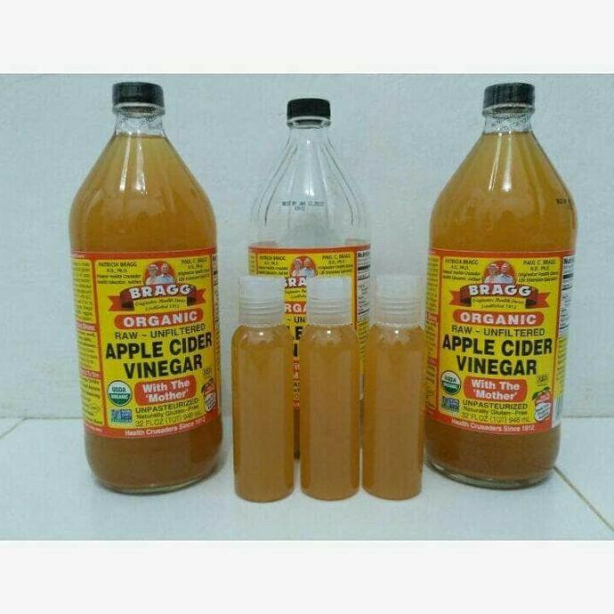 Pure Cuka Apel - Bragg Apple Cider Vinegar PURE 60ml