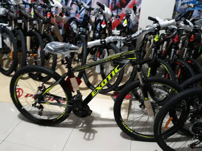 harga Sepeda gunung mtb 26 type exotic 2611 alloy Tokopedia.com