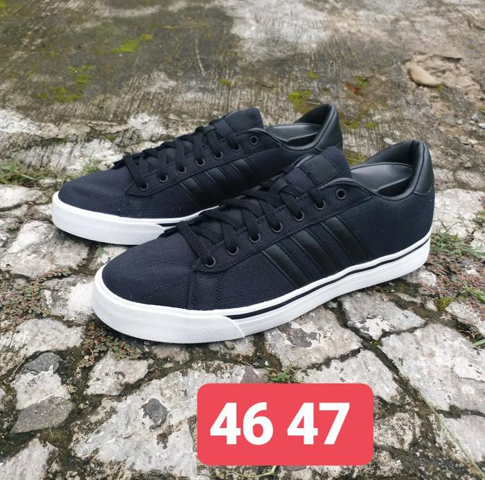 3a9d7f3556b4d5 ... best price sepatu adidas neo cloudfoam super daily original black denim  1e8e5 604ac