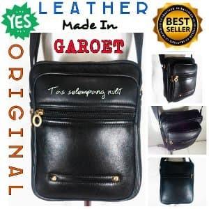 Jual Tas selempang pria kulit asli murah made in Garut TK-03 PROMO ... 703f408f8f