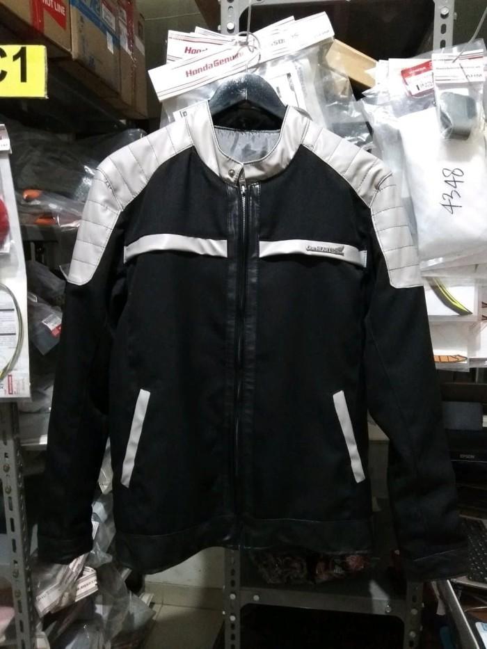 harga Jaket honda vario 150 black grey size l & xl Tokopedia.com