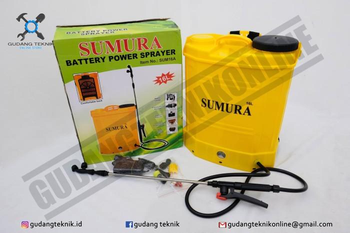 harga Alat Semprot Hama Sprayer Elektrik SUMURA Tokopedia.com
