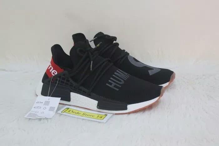 bad8905a3 Sepatu Adidas NMD Human Race x Pharrell Williams x Supreme - Premium