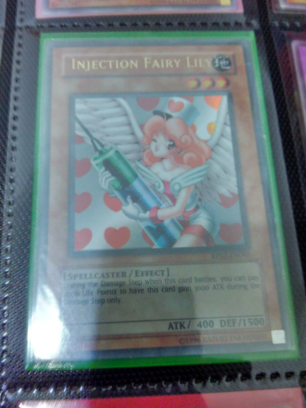 Yu-Gi-Oh Japanese MA-11 Injection Fairy Lily Common Rare