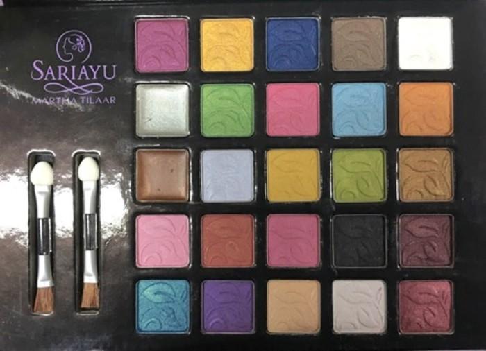 Katalog Eyeshadow Sariayu 25 Warna Travelbon.com