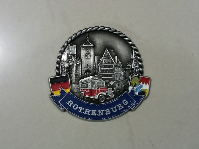harga Magnet kulkas metal rothenburg souvenir negara jerman - germany Tokopedia.com