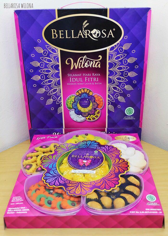 Kue Kering Lebaran Bellarosa Paket Wilona