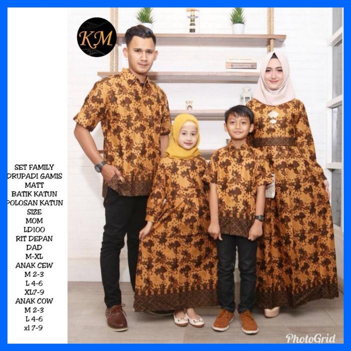 harga Baju batik couple sarimbit keluarga family ybs 01 muslim hijab gamis Tokopedia.com