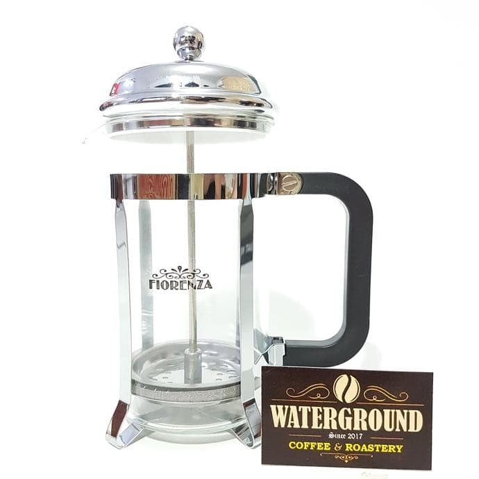 Fiorenza French Press Coffee Maker 350 Ml For 3 Cups - Blanja.