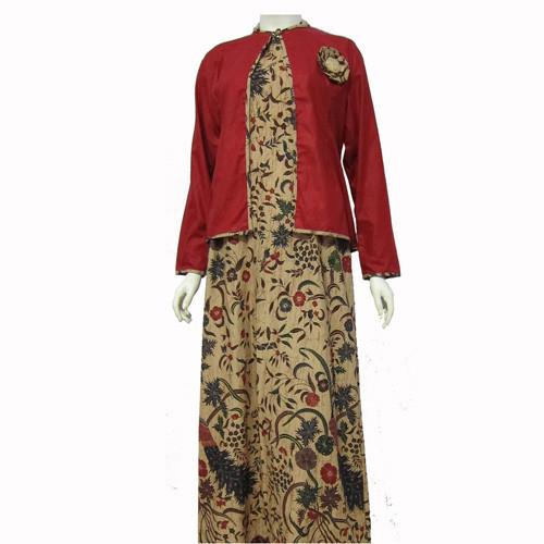Jual Model Baju Gamis Batik Kombinasi Terbaru Bahan 100 Original Pasti Kab Boyolali Baju Batik Dinasti Tokopedia
