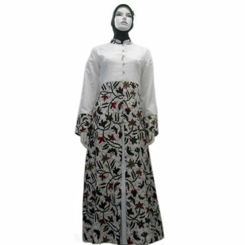 Jual Model Baju Gamis Batik Kombinasi Terbaru Busana Muslim Sa 545 Kab Boyolali Baju Batik Dinasti Tokopedia