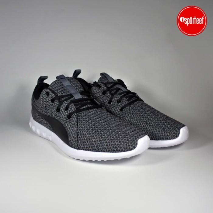 harga Sepatu 100% Original Puma Carson 2 Knit Lapis Running Casual Black -  Hitam 09c953a67c