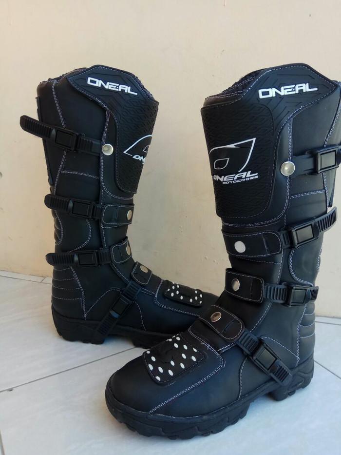 harga Sepatu cross oneal hitam lokal trail offroad motocross cros bandung Tokopedia.com