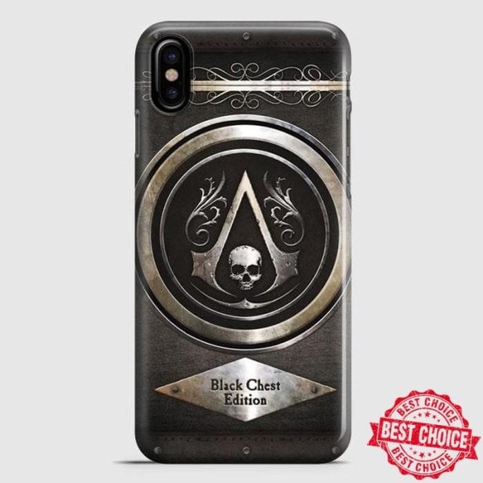 Jual Assassins Creed Black Flag Logo Casing Handphone Semua Type