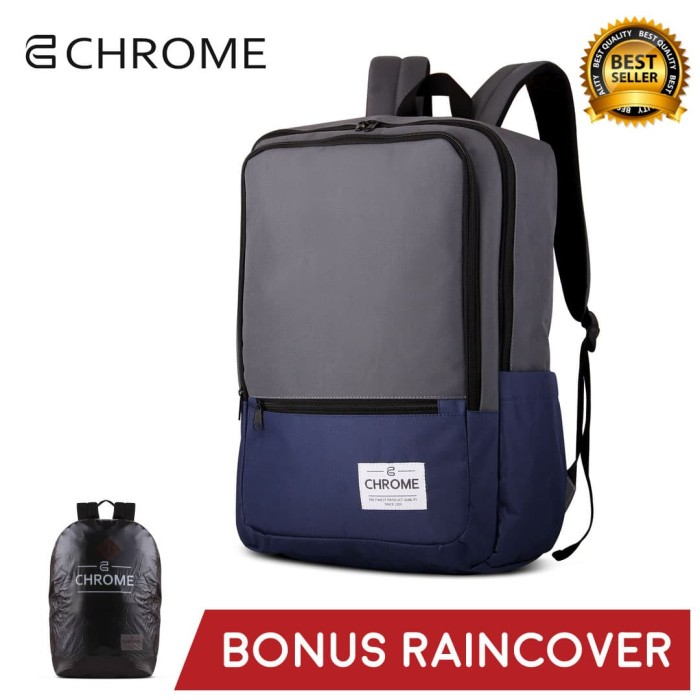 Foto Produk Tas Ransel Pria Backpack Chrome 05 Abu dari chromebag