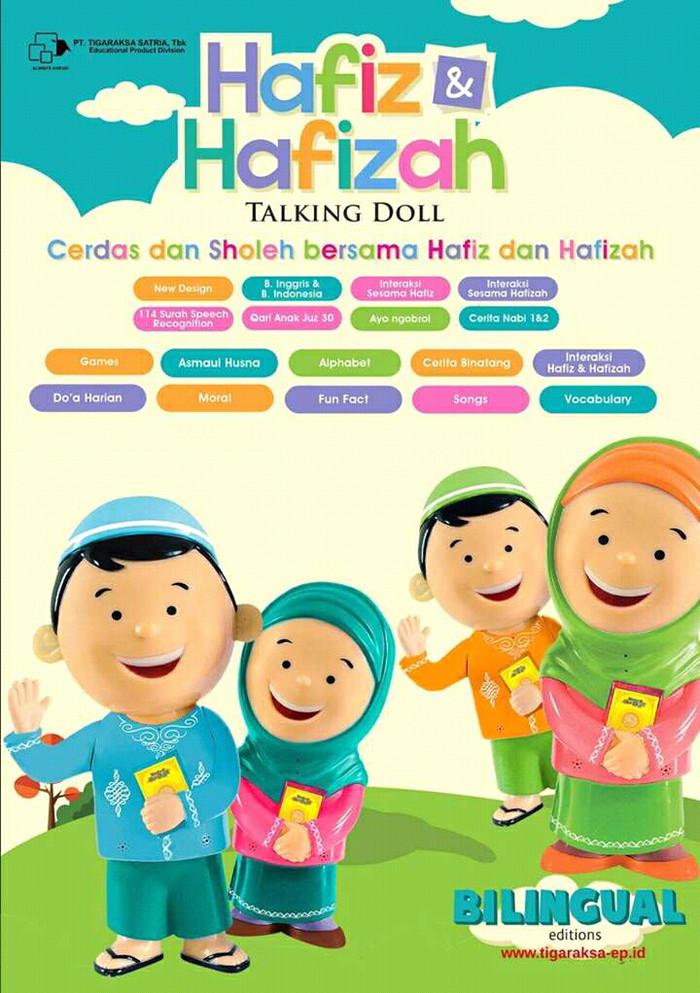 Hafiz Talking Doll adalah boneka yg bisa ngaji, bsa bicara,bisa cerita