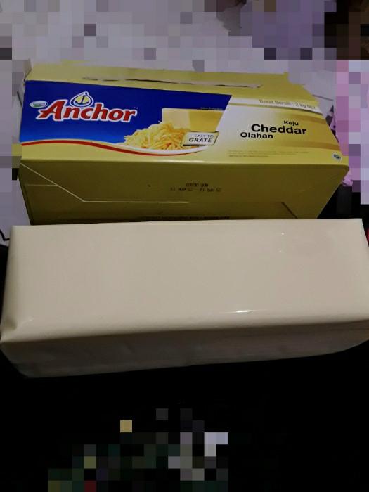 Foto Produk Keju anchor cheddar repack 500gram dari Just Me Shop