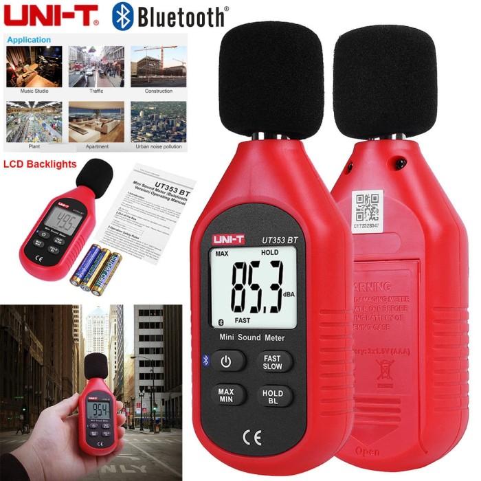 harga Lcd digital sound level meter w/bluetooth -noise meter max 130db-promo Tokopedia.com