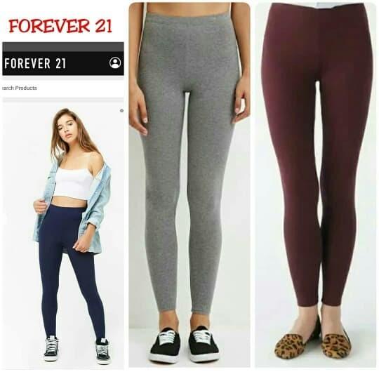 Jual Forever 21 Legging Classic Ready 3 Warna Pilihan Ready Jakarta Timur Stocklots Branded Tokopedia