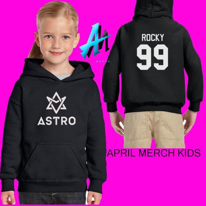 Jual Hoodie Sweater Anak Anak Astro Kpop Member Rocky Kota Bandung Bungsu Clothing Tokopedia