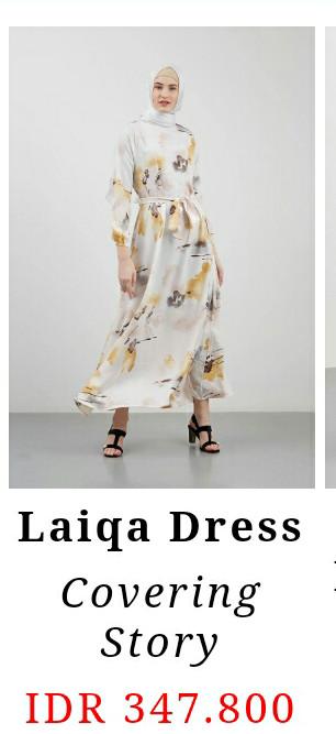 Hijabenka - Laiqa gamis Dress by covering stories