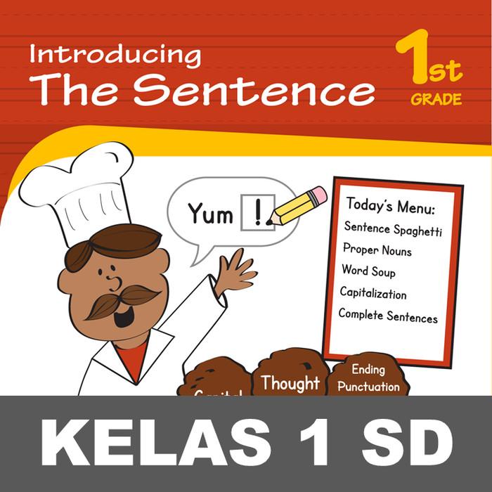 Jual Introducing The Sentence Buku Aktivitas Menulis Kata Mewarnai