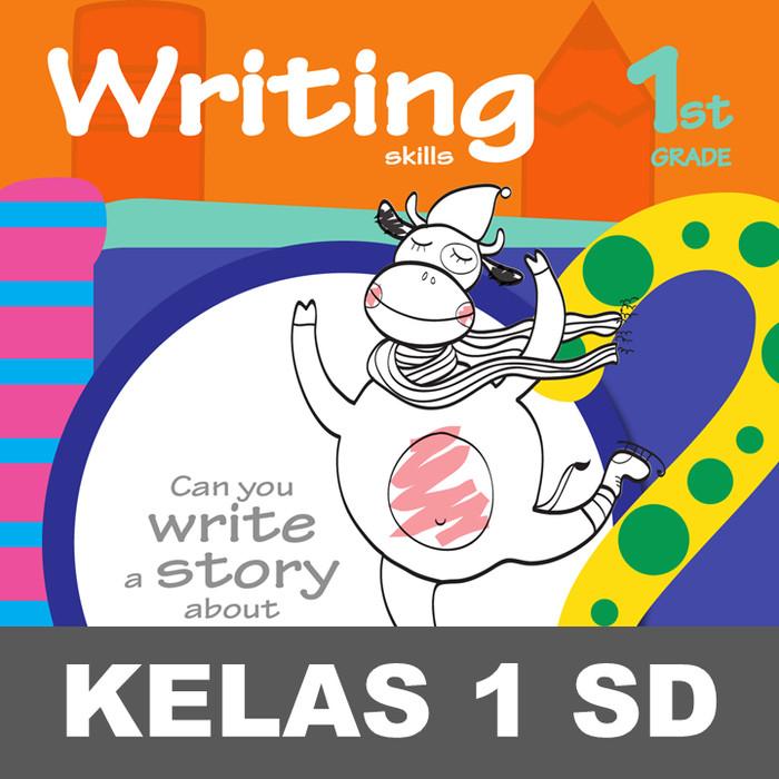 Jual Writing Skills Buku Aktivitas Menulis Kata Mewarnai Gambar Anak