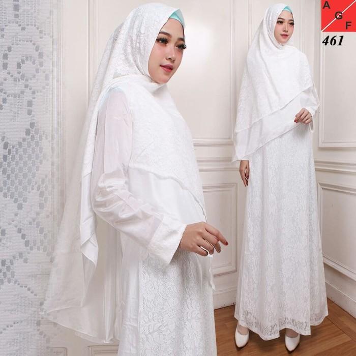harga Baju gamis putih / busana muslim / baju muslim #461 std Tokopedia.com
